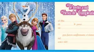 Elsa Congelada Personalizado Invitaciones Fiesta De Cumpleanos O