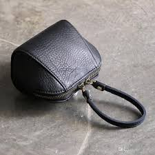 soft leather hand bag with top layer