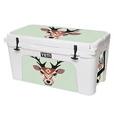 Mightyskins Protective Vinyl Skin Decal For Yeti Tundra 75 Qt Cooler Wrap Cover Sticker Skins Aztec Deer For More Infor Yeti Tundra Cool Wraps Cool Stickers