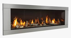 ventless gas fireplace real
