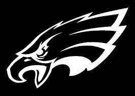 Philadelphia Eagles Logo Car Decal Vinyl Sticker White 3 Sizes Ebay