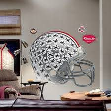 Fathead Ohio State University Buckeyes Helmet Wall Decal