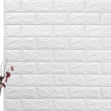 3d Fake Brick Wall Stickers Self Adhesive Waterproof Art Wallpaper Multicolor Ultra Realistic Brick Wallpaper For Nursery Room Wall Stickers Aliexpress