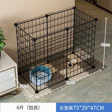On Sale Pet Fence Indoor Home Dog Fence Guardrail Iron Small Dogs Teddy Dog Dog Cage Rabbit House Nests Lazada Ph