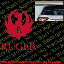Firebird Car Window Phone Die Cut Vinyl Decal Sticker For Pontiac Racing Rc081