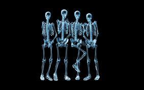 الهياكل العظمية تضحك D1g