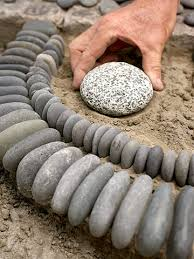 diy garden ideas with rocks the