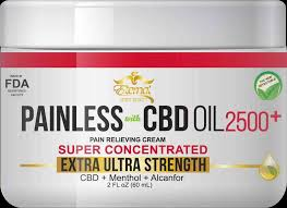 Eternal Painless CBD Cream 2500mg - CDC Collective – Lifted