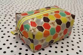 easy zipper box bag tutorial harts