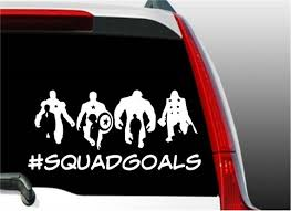 Squad Goals Avengers Decal Avengers Sticker Etsy