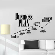 Business Plan Timeline Wall Stickers For Office Marketing Financial Planning Vinyl Wall Decal Decor School Classroom Mural Decals Decals For Bedroom Walls From Joystickers 12 07 Dhgate Com