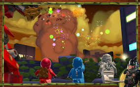 LEGO Ninjago: Shadow of Ronin (2015) promotional art - MobyGames