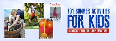 101 Summer Activities For Kids Fitness By The Sea