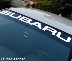 Product Subaru Windshield Vinyl Decal Sticker Window Decal Graphic Impreza Sti Wrx Jdm Subaru Wrx Impreza