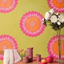 Daisy Dot Flower Stencils For Walls Furniture Royal Design Studio Stencils