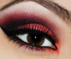 dark red eye makeup saubhaya makeup
