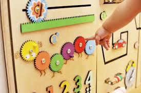 Sensory Board Kids Room Decor Montessori Developing Panel Etsy