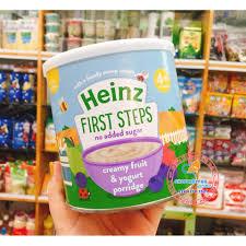 Bột ăn dặm Heinz cho bé từ 4m vị Ngũ cốc hoa quả sữa chua, giá chỉ  175,000đ! Mua ngay kẻo hết!