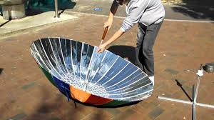how to build a solar power cooker