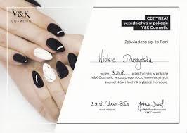 Certyfikaty Wioleta Duszynska Galeria Zdjec Salon Wioleta