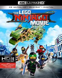 The LEGO Ninjago Movie 4K and 3D Blu-ray