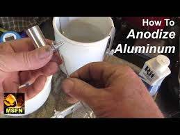 how to anodize aluminum parts easily