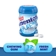 chewing gum fresh mint flavour