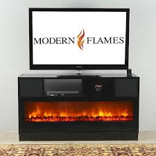 modern flames electric fireplaces