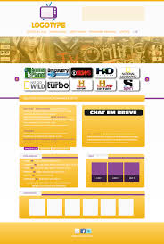 Layout TV Online by Designnerd on DeviantArt