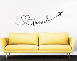 Travel Wall Decal Etsy
