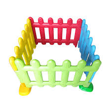 Rail Fence Plastic Playpen Children Outdoor Garden Feiqi Toy Yongjia Feiqi Toy Co Ltd