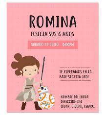 Invitacion De Cumpleanos Rey La Fuerza Para Nina