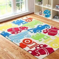 Kids Area Rug With Colorful Cars For Boys Playroom Kids Room Rug Kids Playroom Rugs Kids Area Rugs