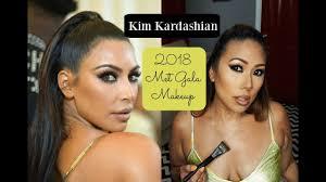 kim kardashian met gal 2018 makeup