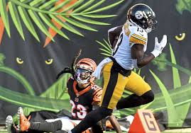 Big plays by James Washington, Deon Cain had one Bengal in common |  Pittsburgh Post-Gazette