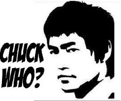 Funny Bruce Lee Chuck Who Decal 6 Many Colors Etsy