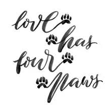 6 863 Lettering Paw Wall Murals Canvas Prints Stickers Wallsheaven