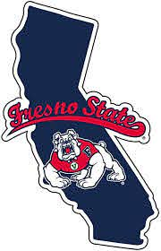 Amazon Com R And R Imports Fresno State Bulldogs Vinyl Decal Ncaa State Shaped Sticker Sports Outdoors