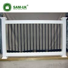 China 6 X 8 Semi Private Vinyl Fencing With Lattice Top Uphill China White Vinyl Privacy Fence White Vinyl Privacy Fencing