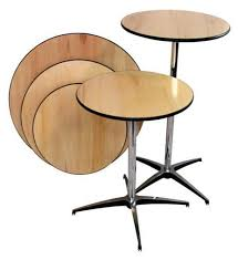 tables round cocktail av party al