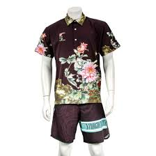 shirt hawaii short sleeve cal shirt