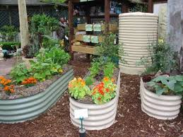 raised garden beds with images