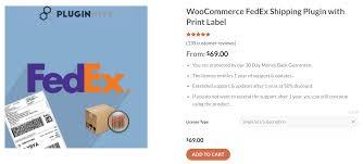 woomerce fedex shipping plugin