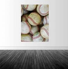 Baseball Vinyl Decal Baseball Wall Decal Baseball Decor Etsy