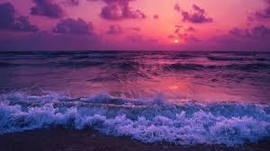pink ocean sunset oceans nature