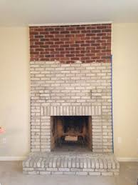 how to whitewash brick and cover an old