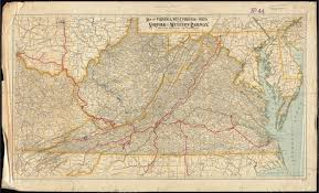 Map of Virginia, West Virginia and Ohio - Norman B. Leventhal Map &  Education Center