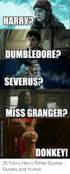 harry dumbledore severus miss granger donkey