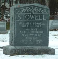 Ada Robinson Stowell (1865-1933) - Find A Grave Memorial