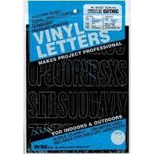 Duro Decal Permanent Adhesive Vinyl Letters Numbers 2 Gothic Black Walmart Com Walmart Com